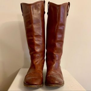 Frye Melissa Pull-on Leather Boots